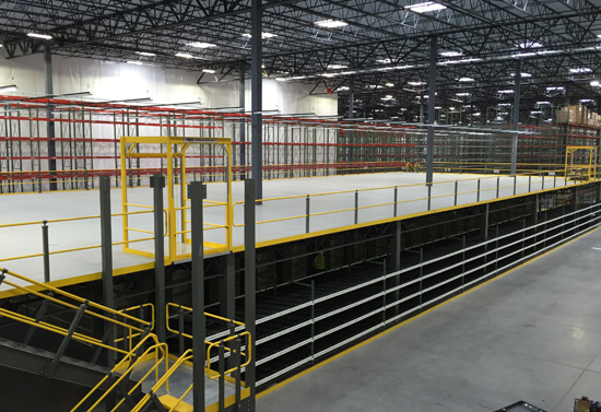 Apex Warehouse Systems Industrial Mezzanines