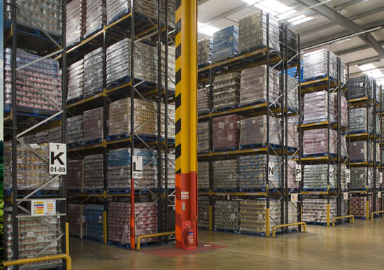 Warehouse Pallet Racking/ Product Slotting