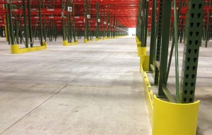 Pallet Rack End Row Guards - Apex Warehouse Systems