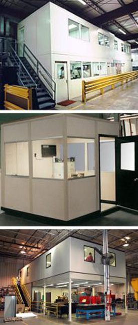 in-plant office for warehousing and storage