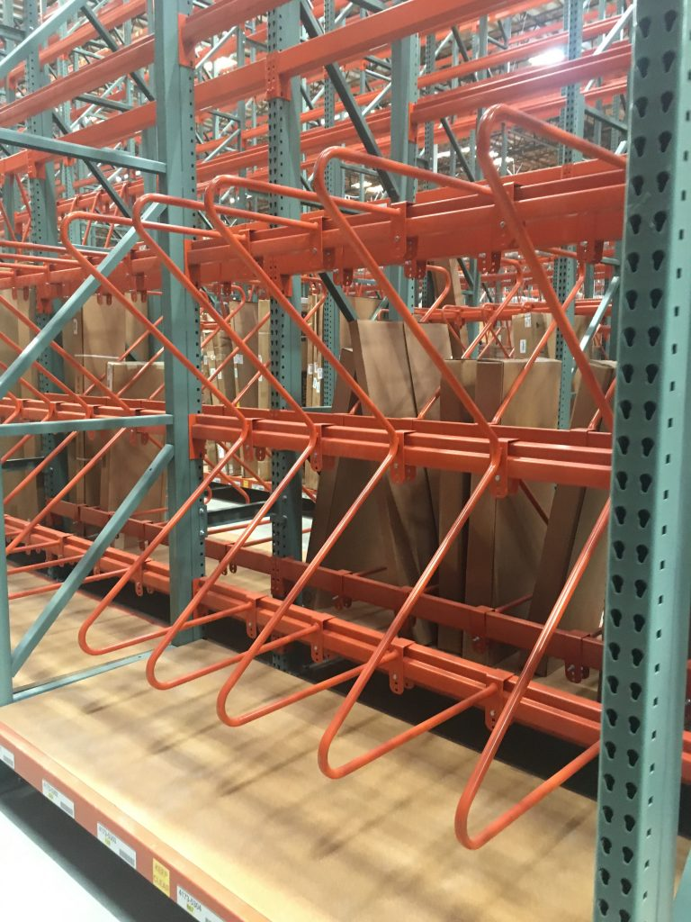 M&V Pallet Rack Dividers Apex Warehouse Systems
