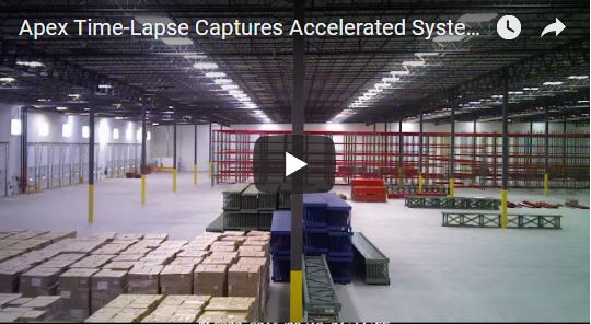 Selective Pallet Rack Installation Apex Warehouse Systems