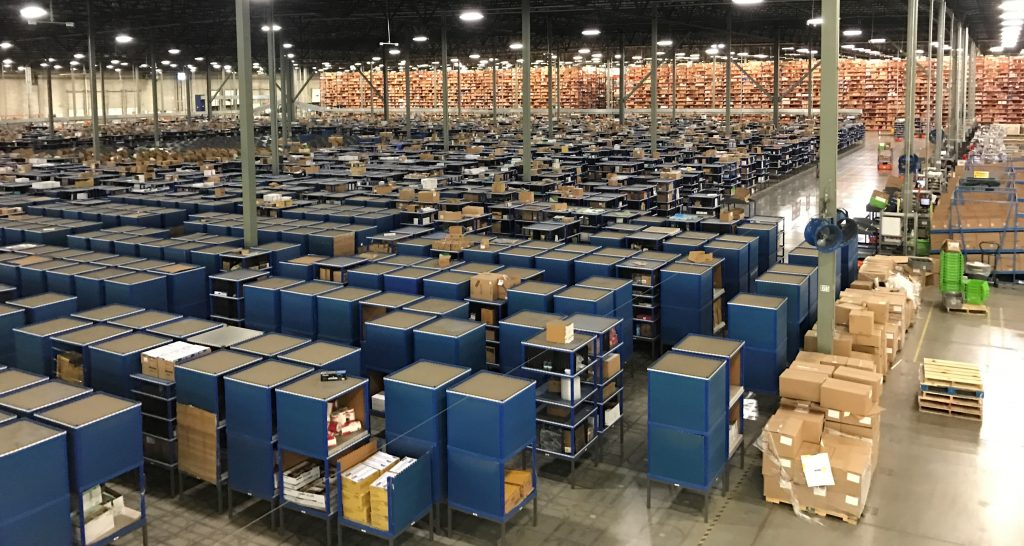 KIVA Decommissioning -Apex Warehouse Systems