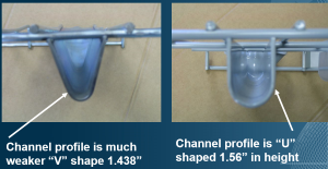 Wire Deck Channel - Apex Warehouse Systems