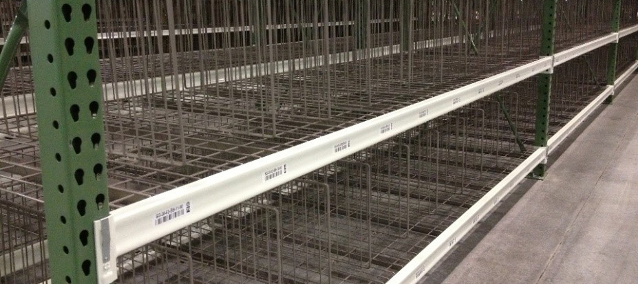 Wire Deck - Pallet Racking Apex Warehouse Systems