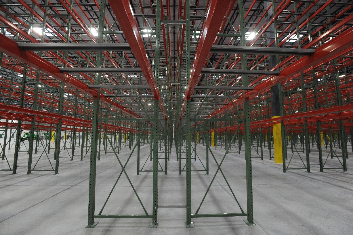 Apex Pallet Racking with Pallet Support
