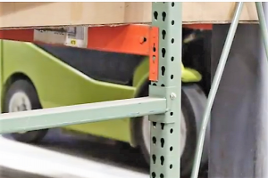 Missing Pallet Rack Pin -Apex Warehouse Systems