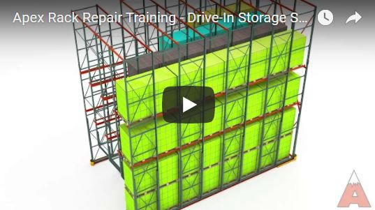 Apex Warehouse Systems Drive-In Pallet Rack Forklift Training Video