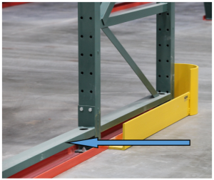 Pallet Rack Rub Rail - Apex Warehouse System