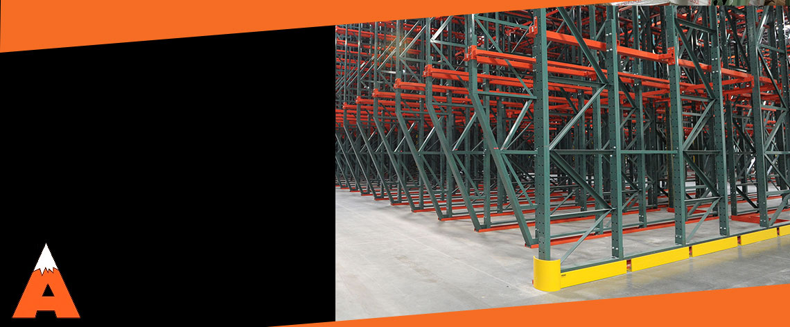 Apex Pallet Rack End Row Guards