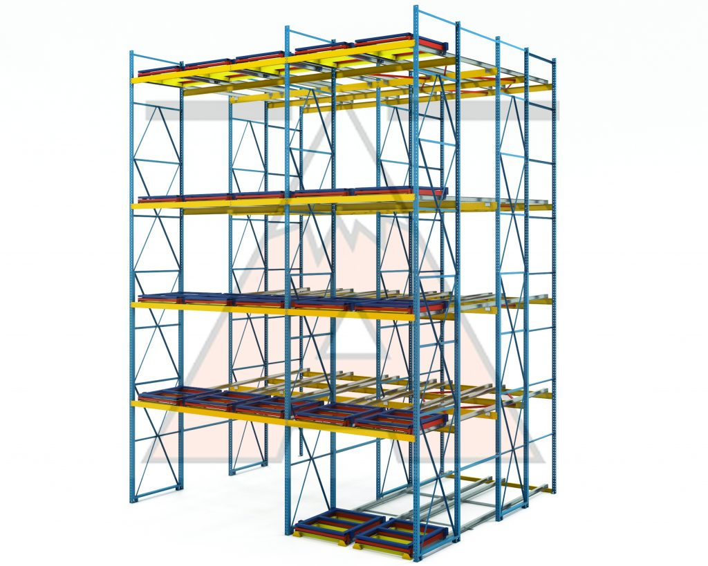Pallet Rack Row Spacers - Apex Warehouse Systems