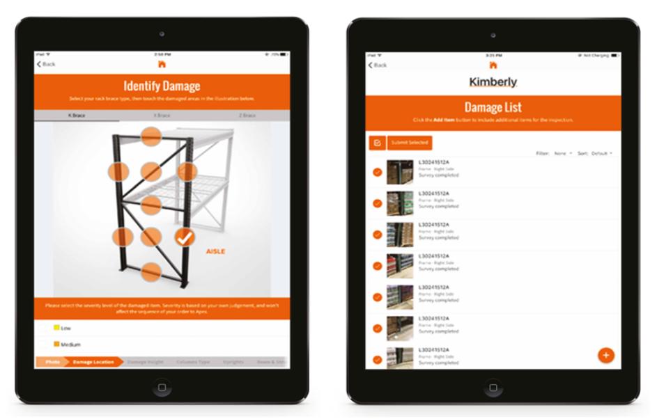 Rack Repair App - Apex Warehouse Systems