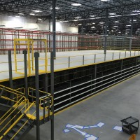 Mezzanine warehouse system design