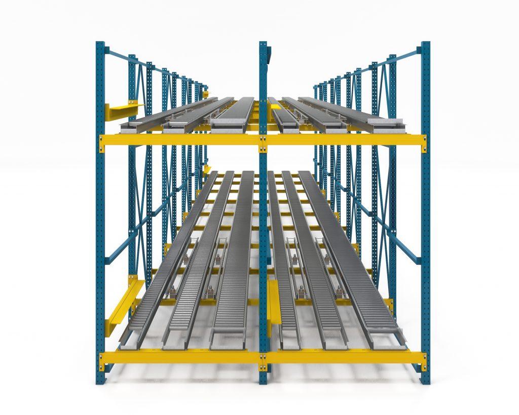Pallet Flow Storage Racking