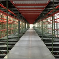 Industrial warehouse pallet rack shelving system pick module