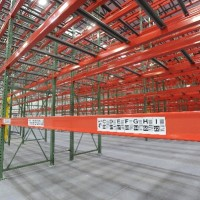 Warehouse selective rack solution