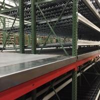 Industrial warehouse carton flow pick module