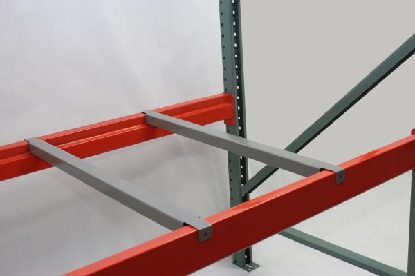 Doubt flanged pallet shelving