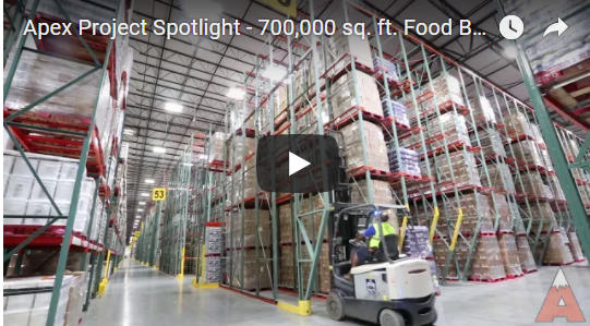 Food Buffering Pallet Storage - Apex Warehouse Systems