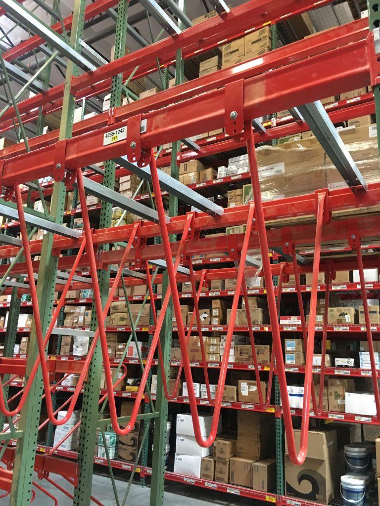M&V Pallet Rack Dividers Apex Warehouse Systems