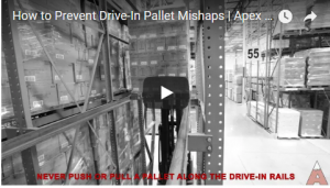 Apex Warehouse Systems forklift driver training - Drive-In Pallet Rack