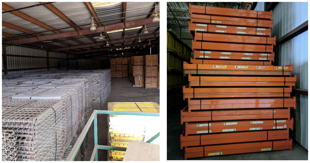 Used Pallet Rack -Apex Warehouse Systems