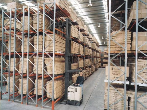 Double-Deep Pallet Rack - Apex Companies