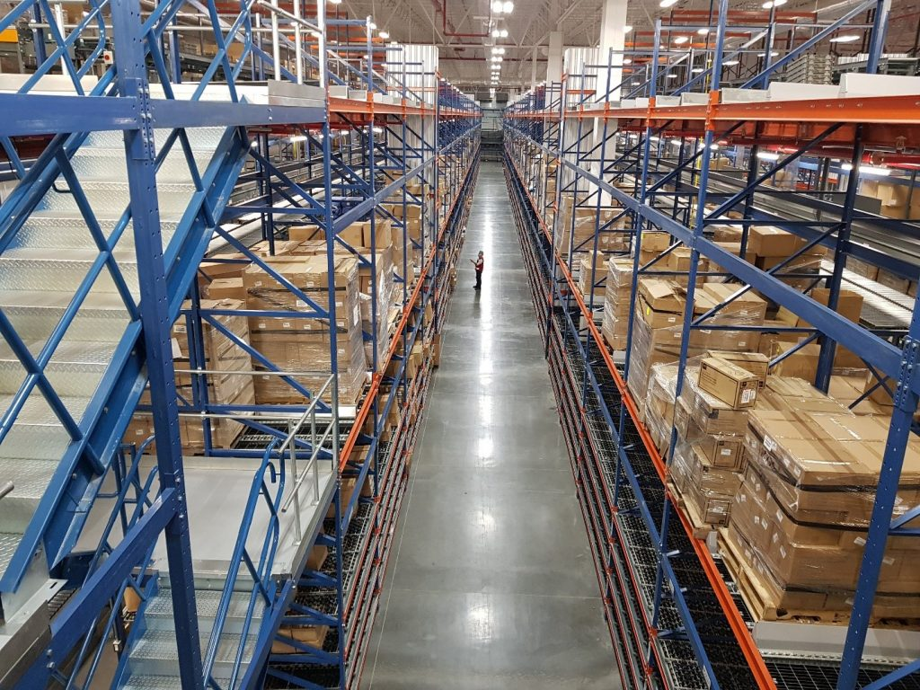 Pick Module & Storage Integration - Apex Warehouse Systems