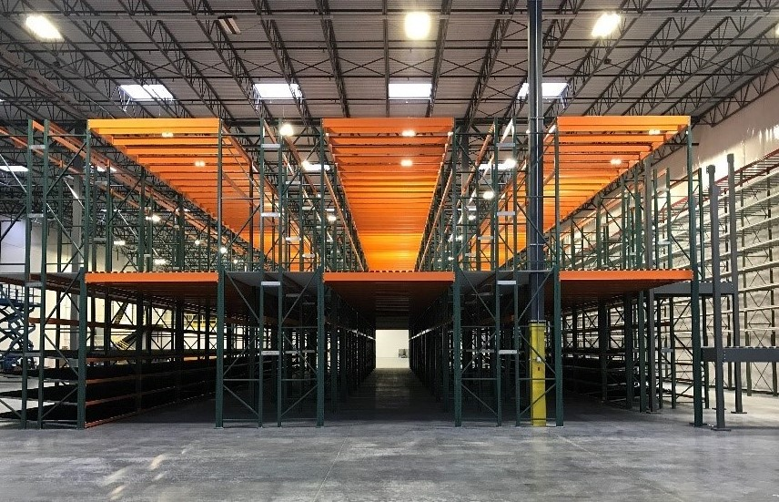 Warehouse Mezzanines - Apex Warehouse Systems