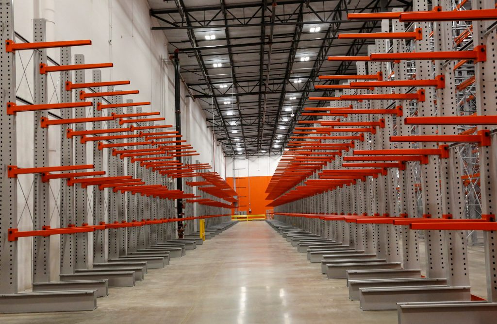 Cantilever Rack - Apex Warehouse System