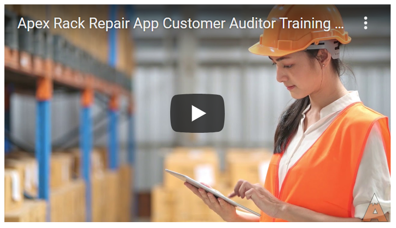 Rack Repair App Pallet Damage Inspection - Apex Warehouse Systems