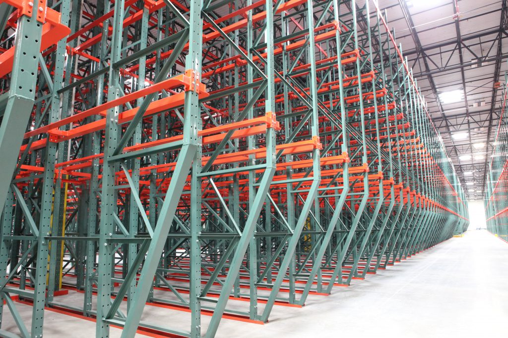 Freezer and Cold Storage Pallet Rack -Apex Companies