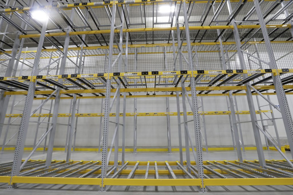 Freezer and Cold-Storage Pallet Rack - Apex Companies