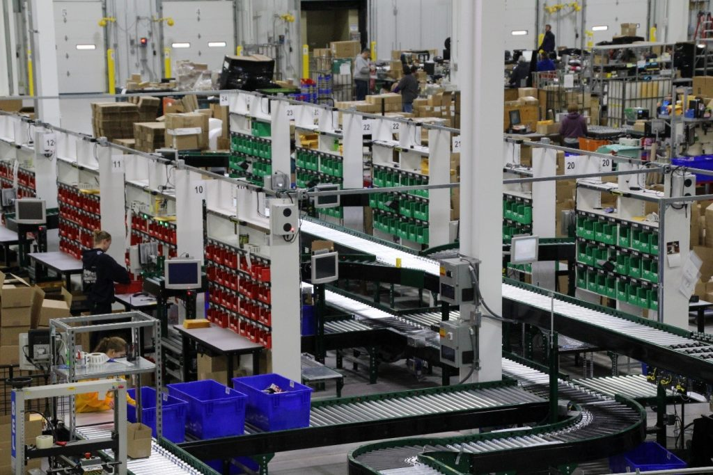 Put to Light Order Picking Automation - Apex Companies