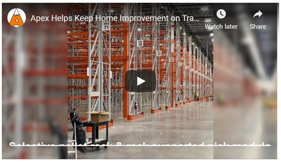 Warehouse Racking - Apex Companies