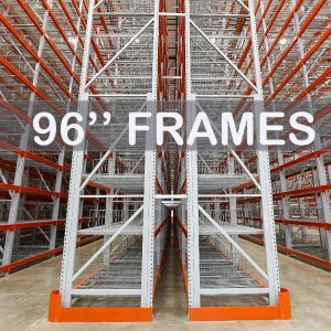"96"" Roll-Formed Upright Frame - Apex Companies"