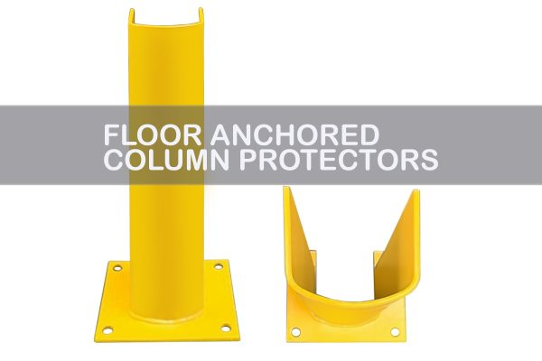 Floor Anchored Column Protectors   Apex Companies