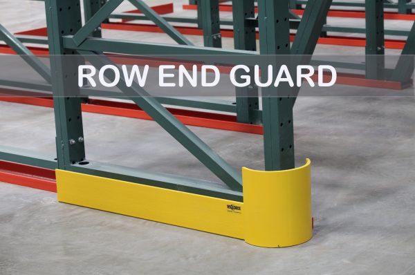Pallet Rack Row End Guard | Apex Companies