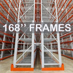 "Pallet Rack Upright Frame - 168"" - Apex Companies"