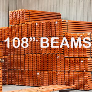 """108"""" Roll-Formed Step Beam 