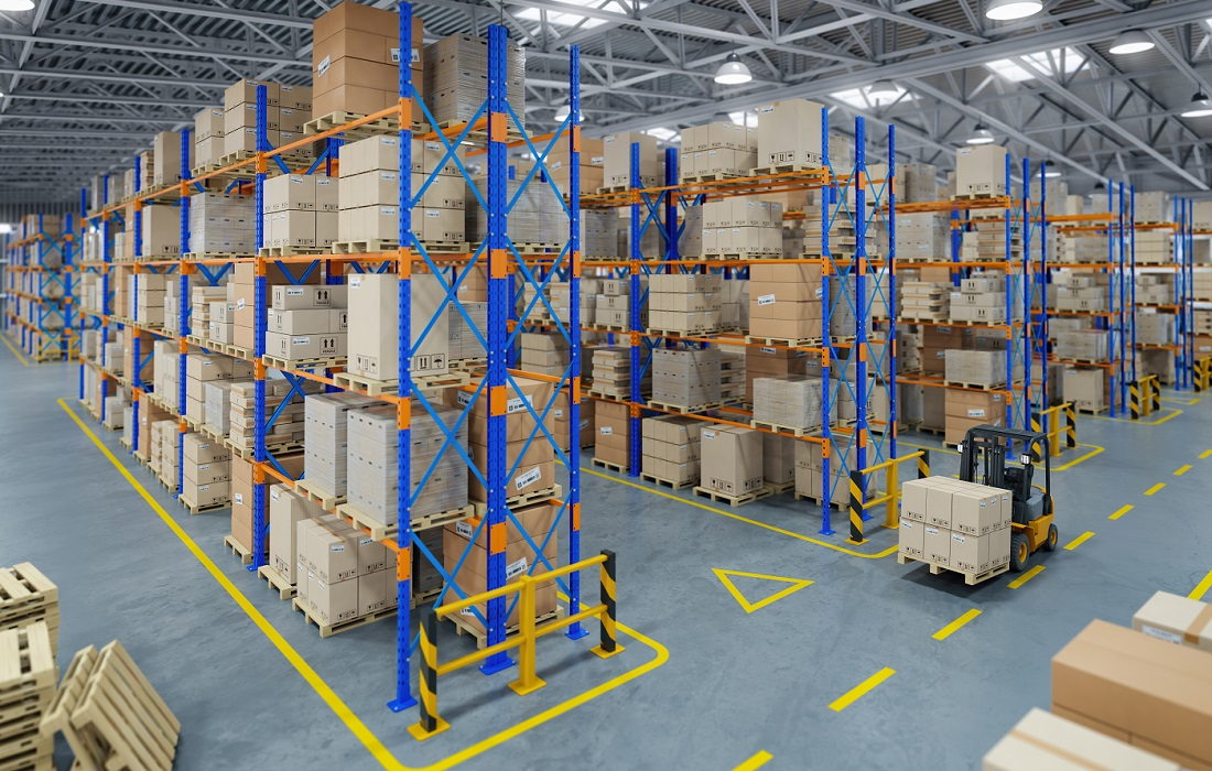 Warehouse Safety - Floor Striping & Marking - Apex Cos.