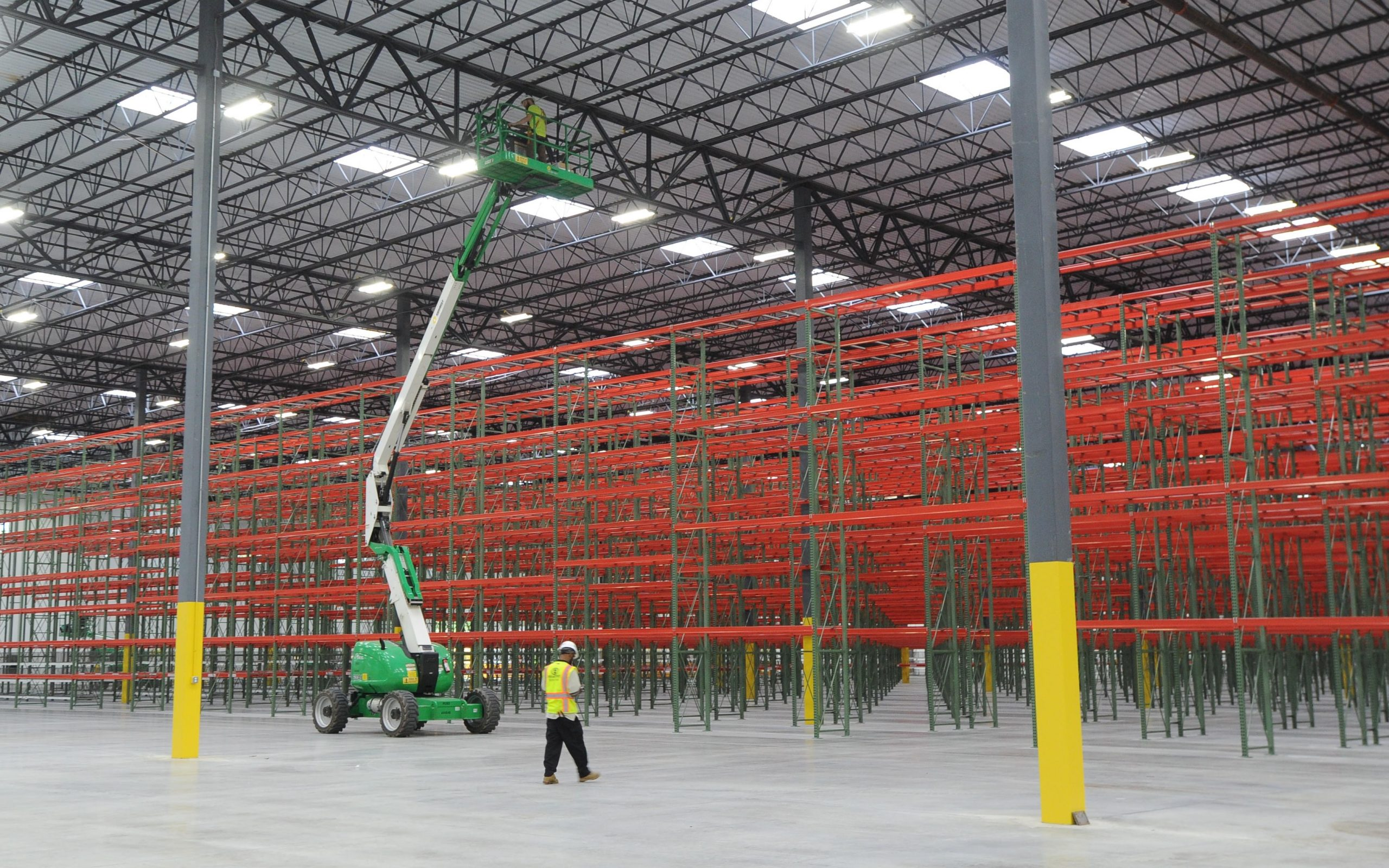 Pallet Racking Installation - Apex Companies